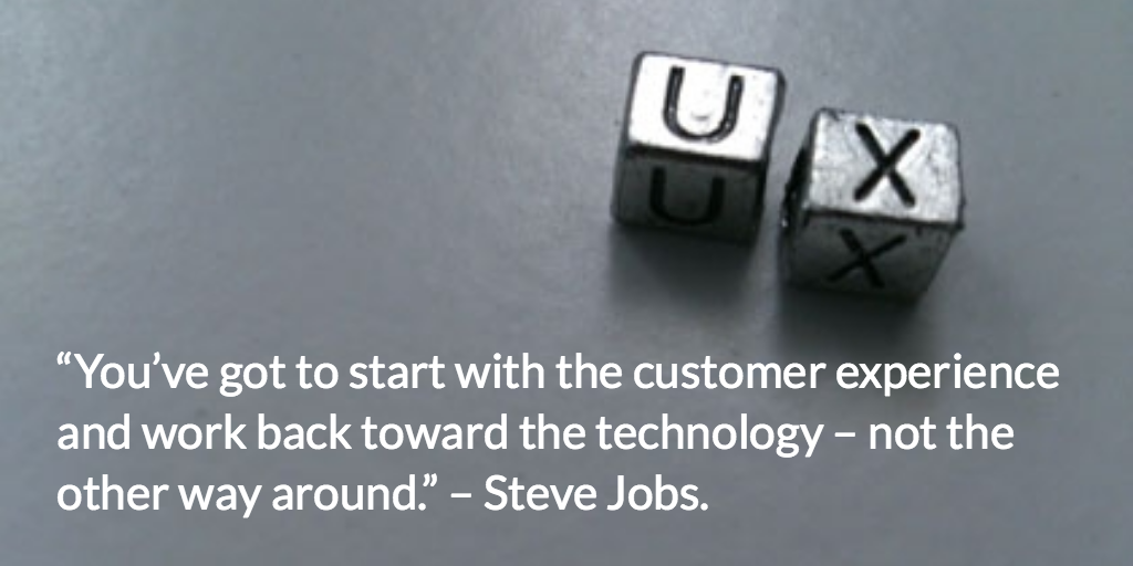 User experience as defined by Steve Jobs