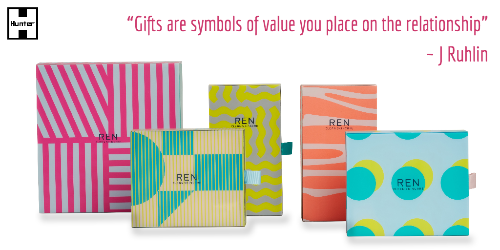 e-commerce packaging | REN Gifting Sets | Produced by Hunter Sourcing