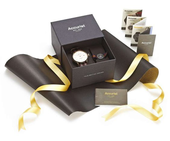 e-commerce packaging | Accurist - award winning packaging from Hunter Sourcing