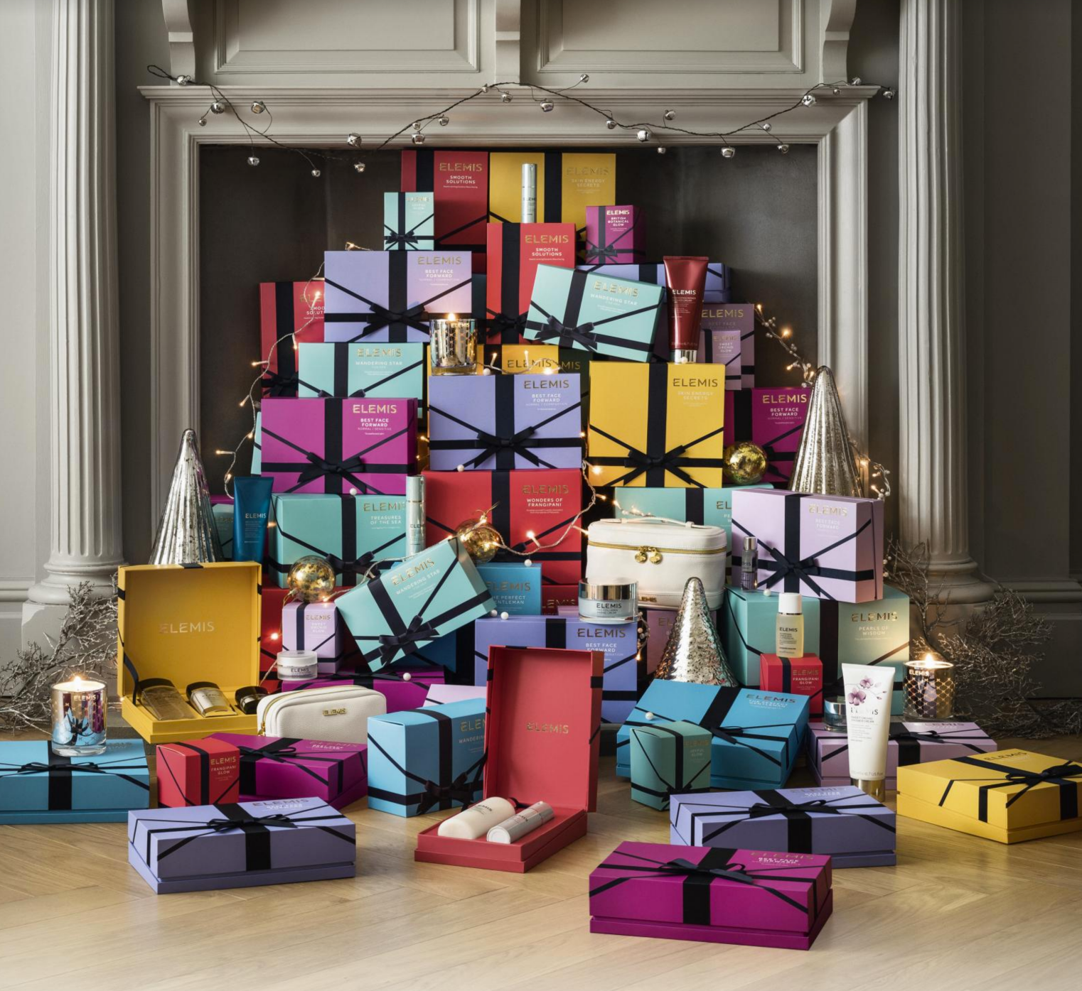 Elemis gifts packaging designed by Hunter Luxury