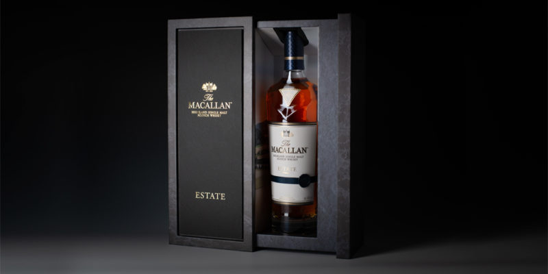 "Industry-first ""Natural Slate"" packaging for The Macallan Estate"