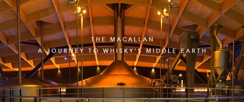 The Macallan. A journey to Whisky's spiritual Middle Earth.