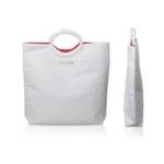 Hunter Luxury - Clarins paper woven summer bag