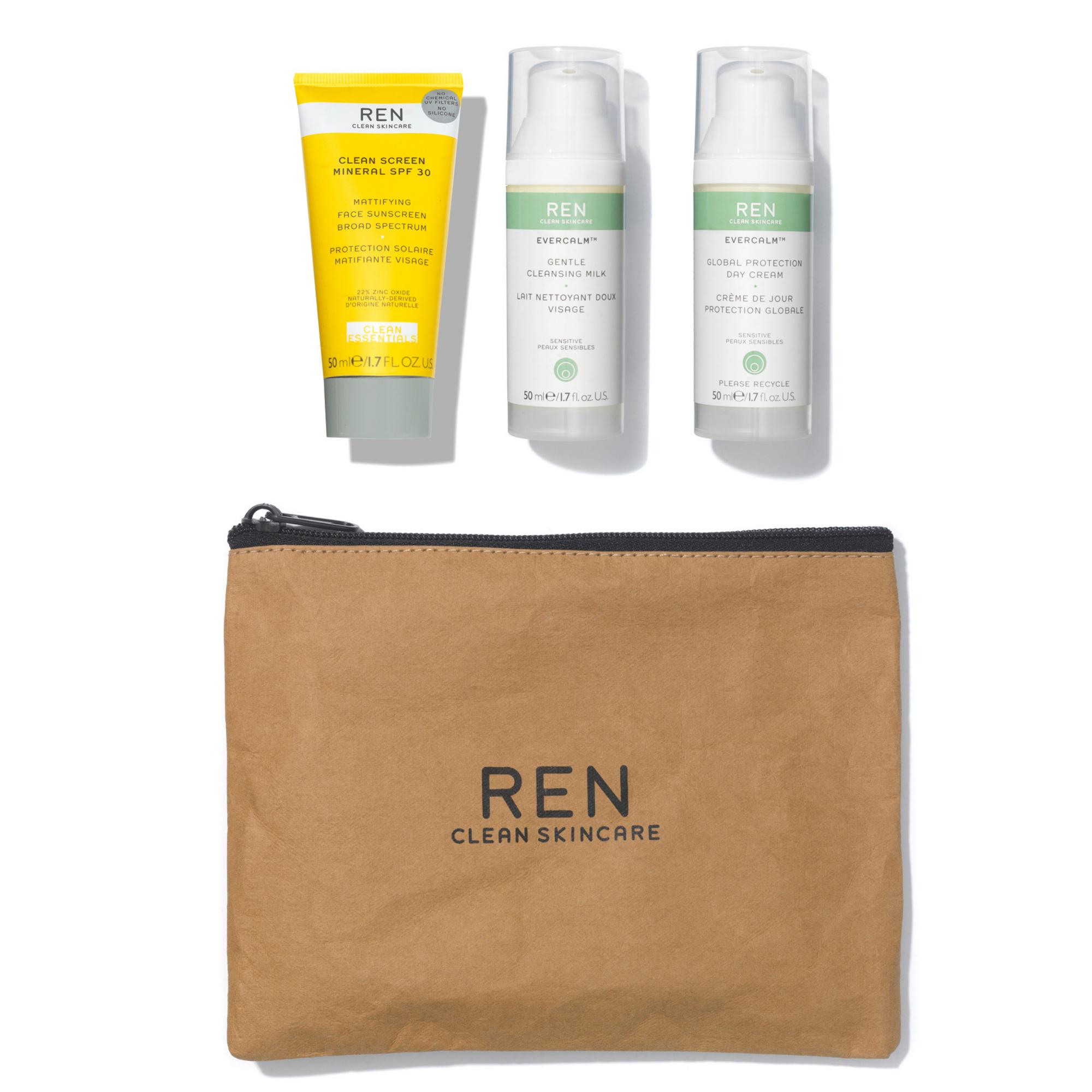 Hunter Luxury - REN kraft paper cosmetic bag